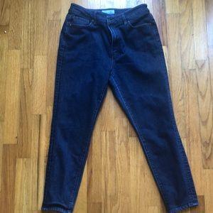 Loft Petite Dark Wash Skinny Jeans